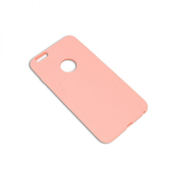Futrola silikon mat iPhone 6 Plus/6s Plus, roze