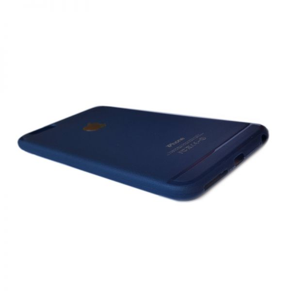 Futrola silikon mat iPhone 6 Plus/6s Plus, plavi
