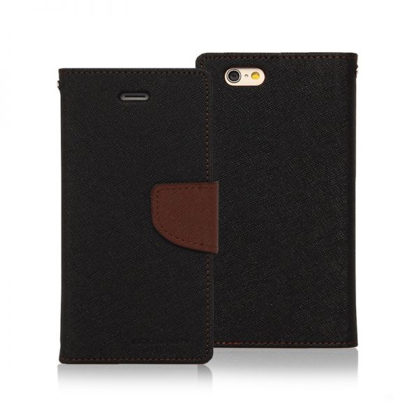 Futrola book cover Mercury na preklop za iPhone 6 Plus/6s Plus, braon