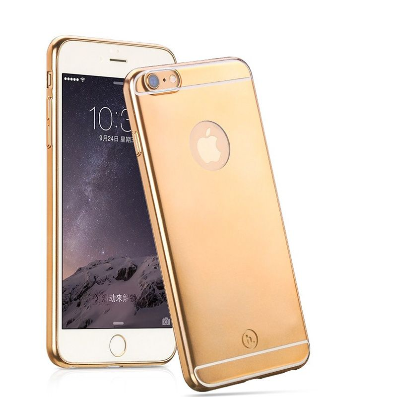 Hoco Futrola black series metal surface za iPhone 6 Plus/6s Plus, zlatna