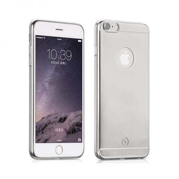 Hoco Futrola black series metal surface za iPhone 6 Plus/6s Plus, srebrna