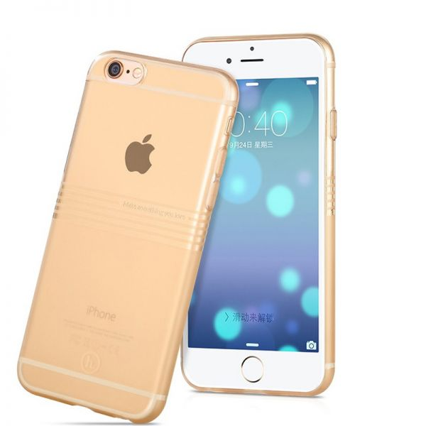 Hoco Futrola Frosted horizontal Tpu case za iPhone 6 Plus/6s Plus, zlatna