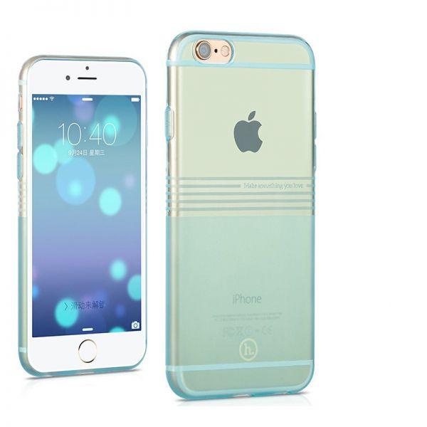 Hoco Futrola Frosted horizontal Tpu case za iPhone 6 Plus/6s Plus, plava