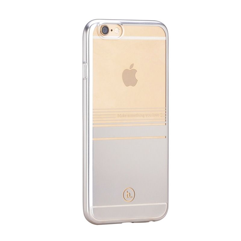 Hoco Futrola black series horizontal surface cover za iPhone 6 Plus/6s Plus, srebrna
