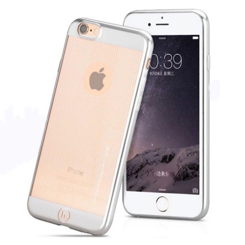 Hoco Futrola black series vertical surface cover za iPhone 6 Plus/6s Plus, srebrna