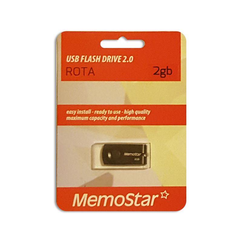 Usb Flash disk Memostar Rota 2Gb, crni