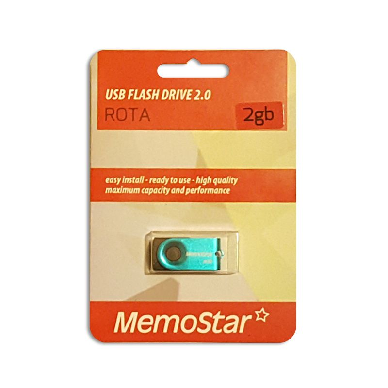 Usb Flash disk Memostar Rota 2Gb, plavi