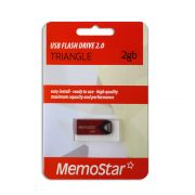 Usb Flash disk Memostar 2Gb Triangle, crveni
