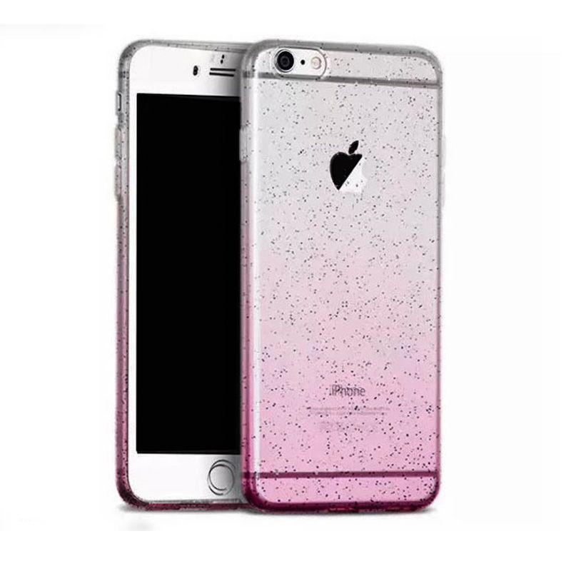 Hoco Futrola super star series Gradient baby's breath Tpu za iPhone 6/6s, roze-zlatna