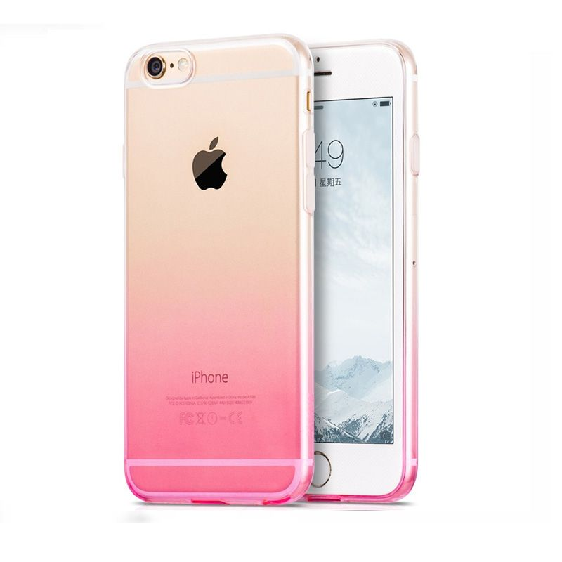 Hoco Futrola black series gradient case za iPhone 6/6s, pink