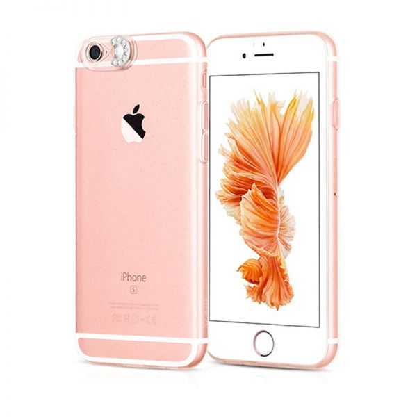 Hoco Futrola colorful flash Tpu za iPhone 6/6s, srebrna