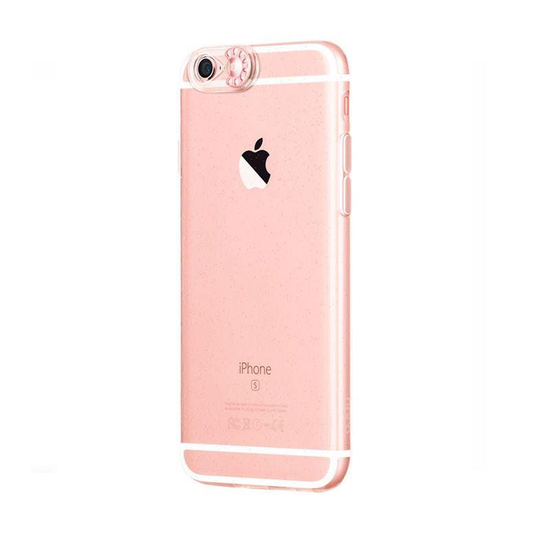 Hoco Futrola colorful flash Tpu za iPhone 6/6s, roze-zlatna