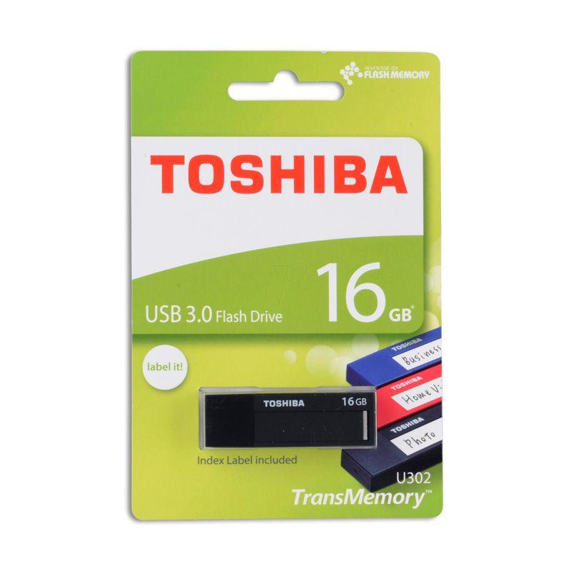 Usb Flash disk Toshiba U302 TransMemory 16Gb, crni