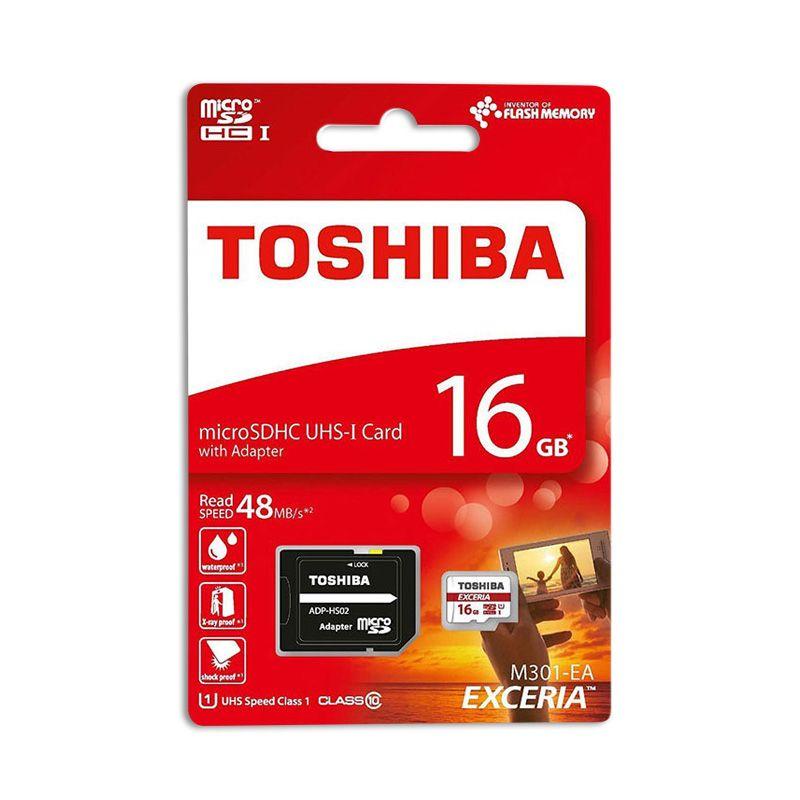 Memorijska kartica Toshiba Exceria M301-EA microSDHC UHS-I + SD adapter