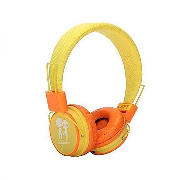 Slušalice velike Baby EP-15, žuto-narandzaste