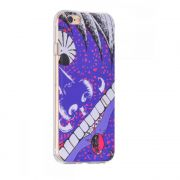 Hoco futrola supper series colorful printed Tpu holder for iPhone 6/6s big mouth