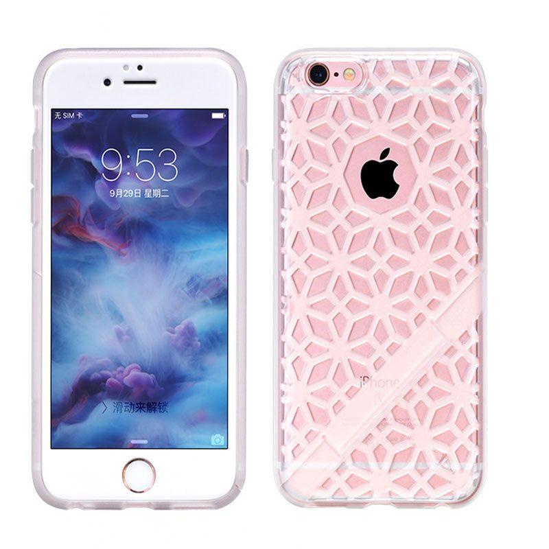 Hoco futrola sebring series coloured Glaze tpu za iPhone 6/6s, bela