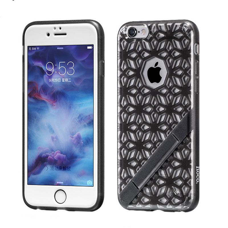 Hoco futrola sebring series coloured Glaze tpu za iPhone 6/6s, crna