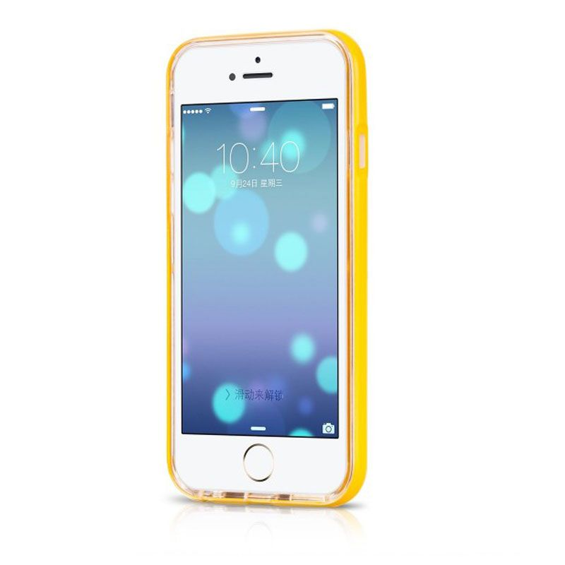 Hoco futrola ster lighiting case za iPhone 6/6s, žuta