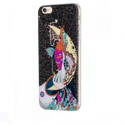 Hoco futrola element series Mythology printed case za iPhone 6/6s mermaid, crna