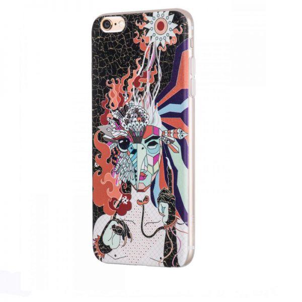 Hoco futrola element series Mythology printed case za iPhone 6/6s Firebird, crna