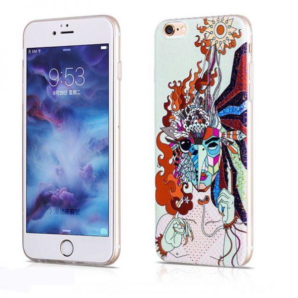 Hoco futrola element series Mythology printed case za iPhone 6/6s Firebird, bela