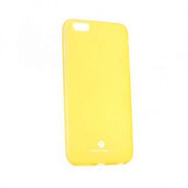 Futrola silikon Teracell giulietta za iPhone 6/6s, žuta