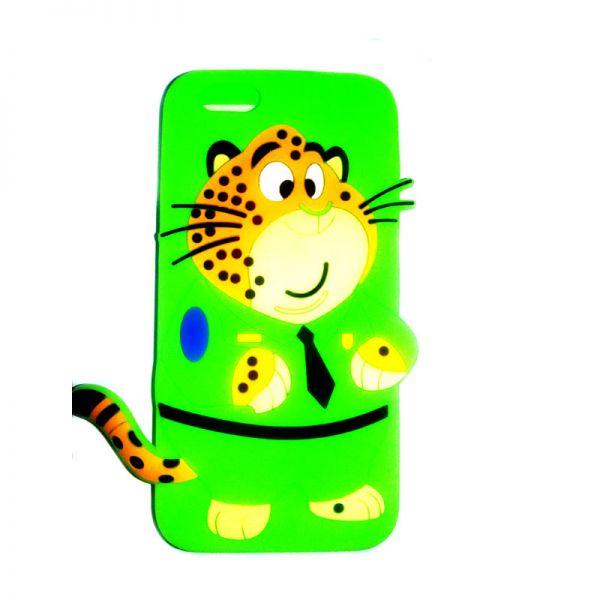 Futrola Gumena za iPhone 6/6s tigar, zelena