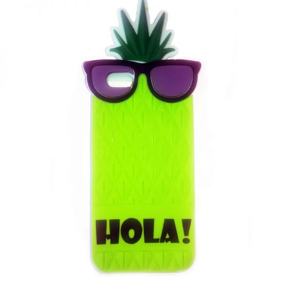 Futrola Gumena za iPhone 6/6s ananas zelena