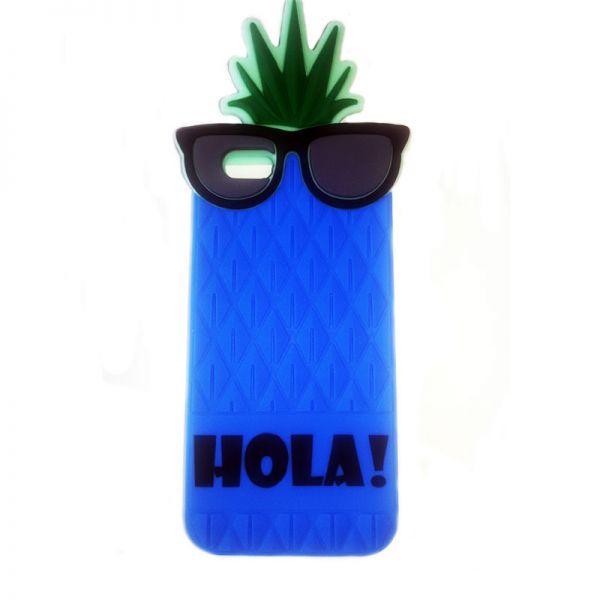 Futrola Gumena za iPhone 6/6s ananas plava