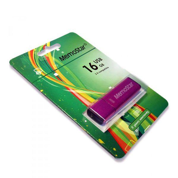Usb Flash disk Memostar Cuboid 16Gb , pink