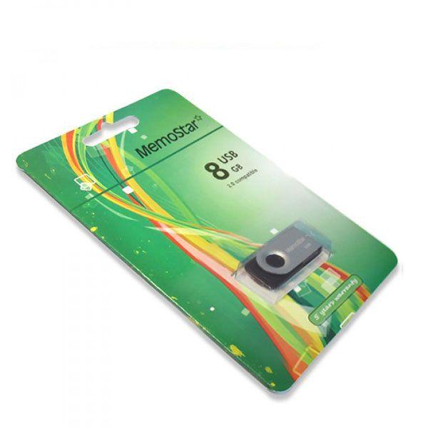 Usb Flash disk Memostar Rota 8GB, srebrni