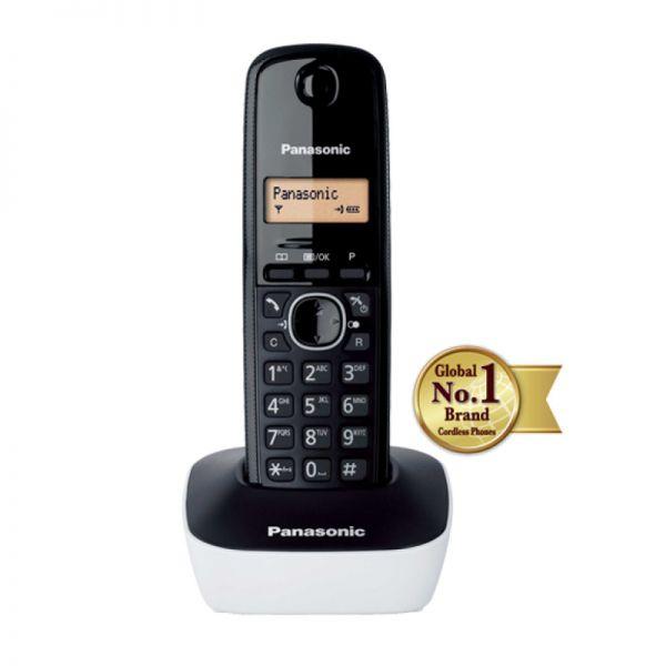 Bežični telefon Panasonic DECT KX-TG1611FXW, beli