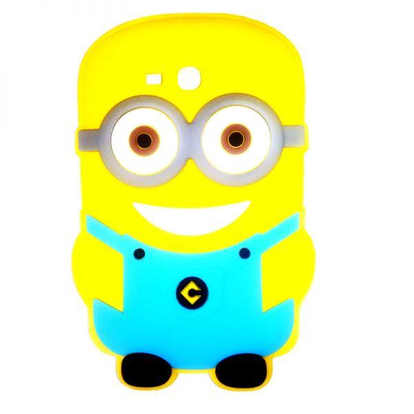 Futrola Gumena za tablet Samsung T110 Minions, plava