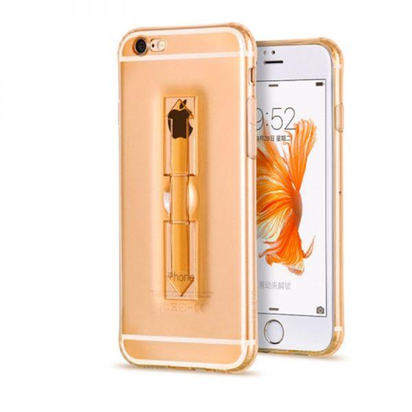 Hoco futrola Finger holder Tpu cover za iPhone 6/6s, zlatna