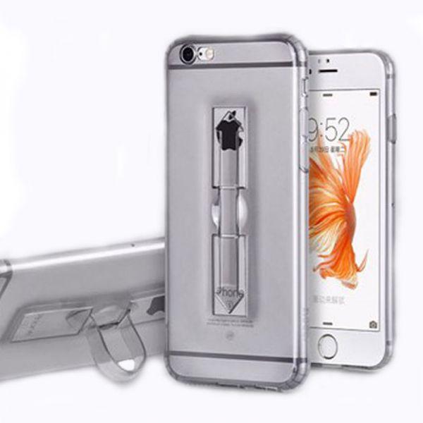 Hoco futrola Finger holder Tpu cover za iPhone 6/6s, crna