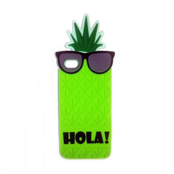 Futrola Gumena za iPhone 5/5s/SE ananas, zelena
