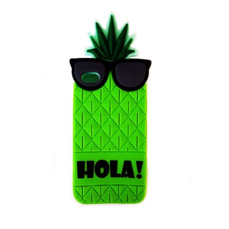 Futrola Gumena za iPhone 4/4s ananas, zelena