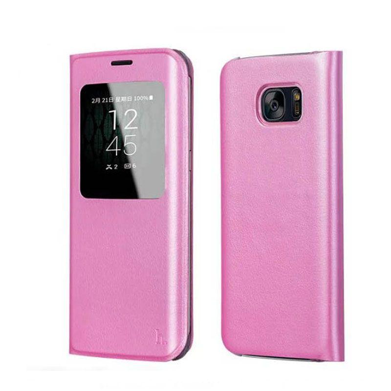 Hoco futrola Original series Visible case za Samsung G935 S7 edge, pink