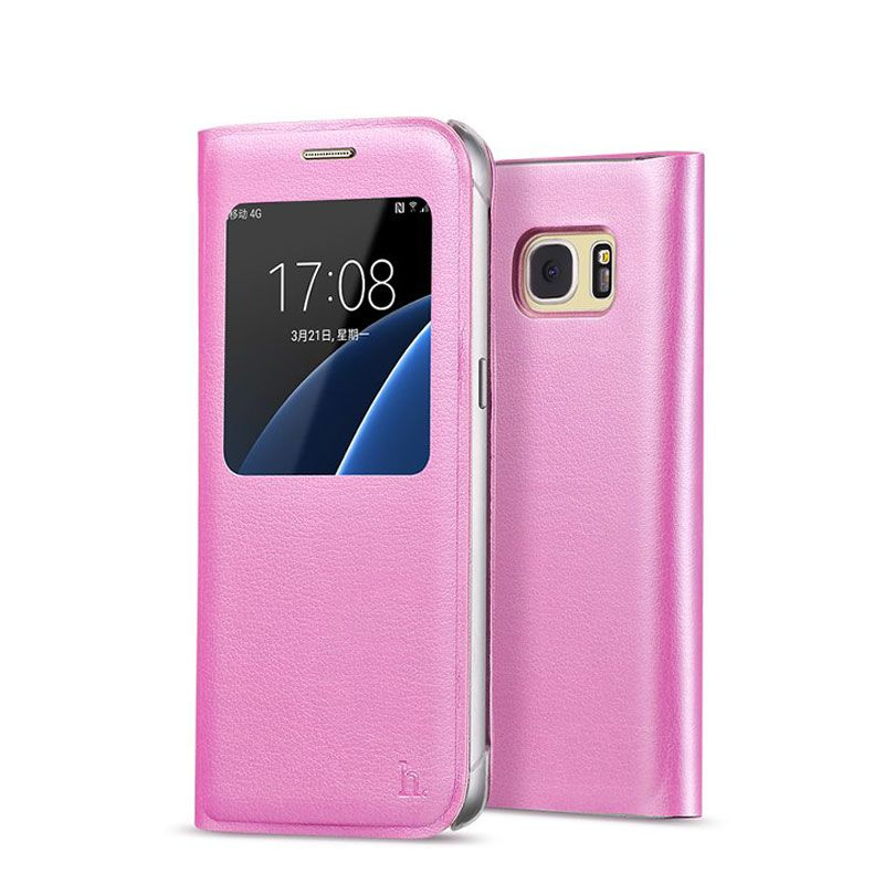 Hoco futrola Original series Visible case za Samsung G930 S7, pink