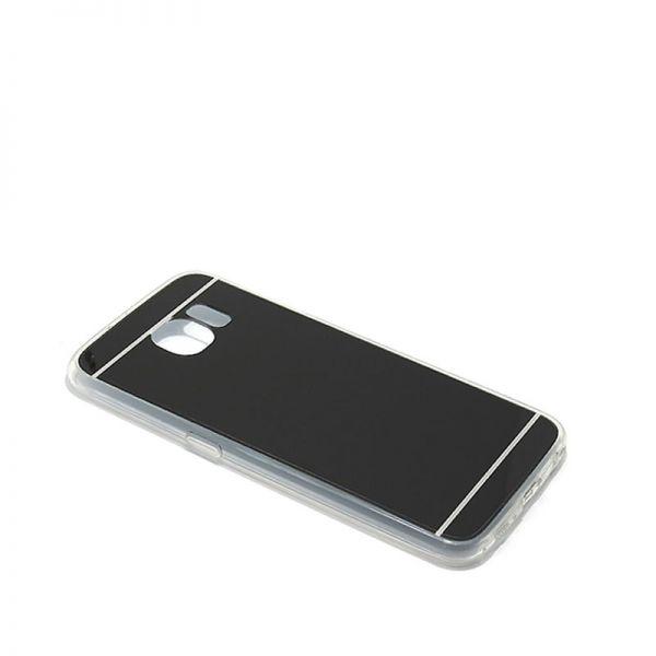 Futrola Ogledalo za Samsung G920 S6, crna