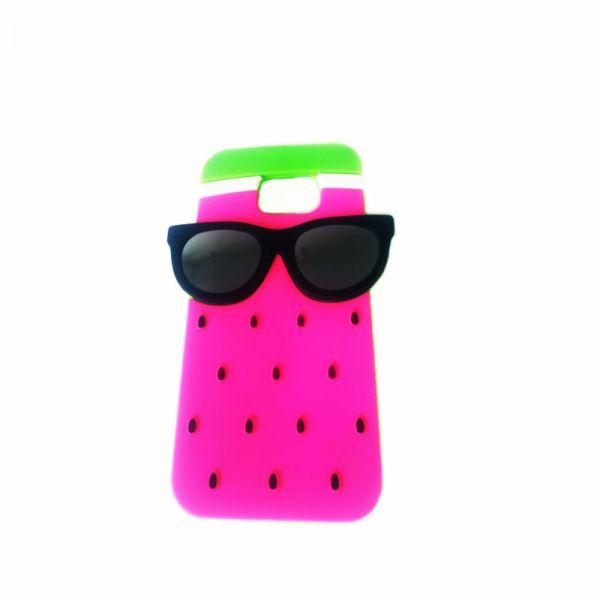Futrola Gumena za Samsung G920 S6 naočare, pink