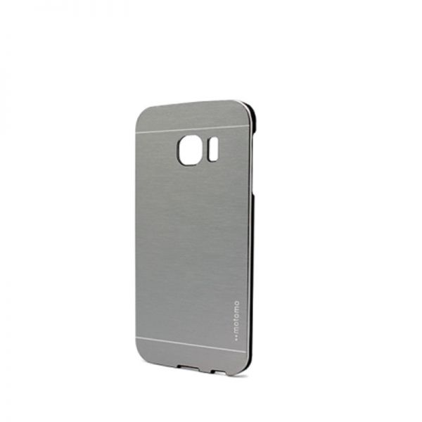 Futrola Motomo za Samsung G925 S6 edge, srebrna