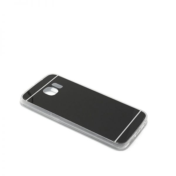 Futrola Ogledalo za Samsung G925 S6 edge, crna