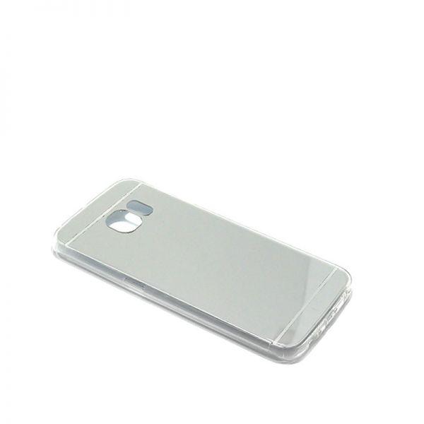 Futrola Ogledalo za Samsung G925 S6 edge, srebrna