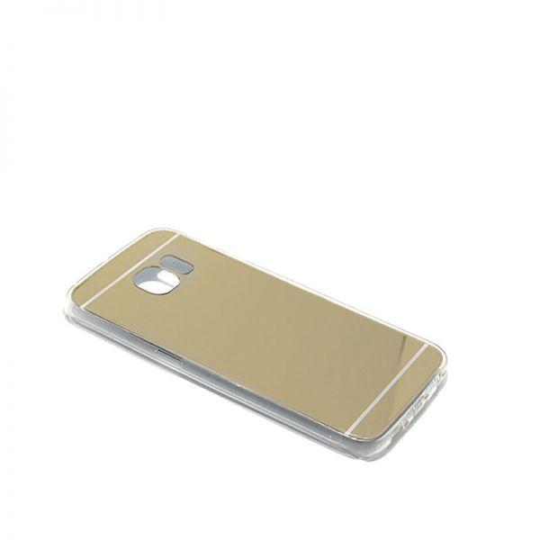 Futrola Ogledalo za Samsung G925 S6 edge, zlatna