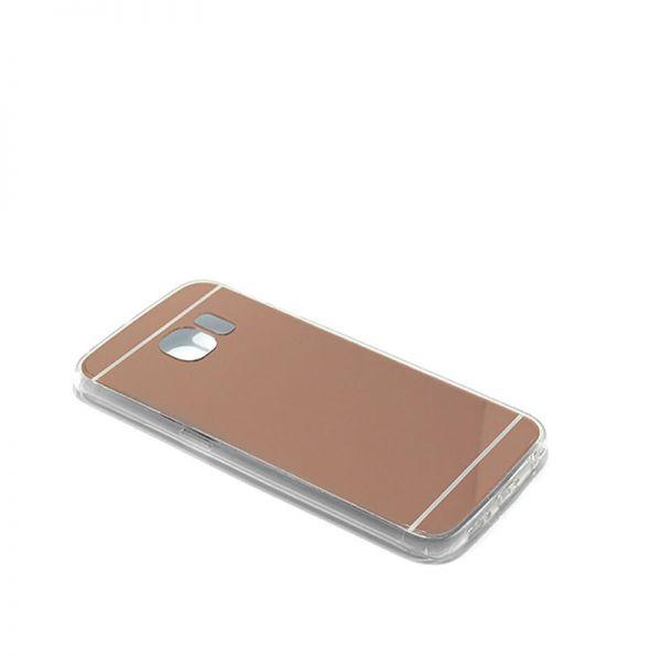 Futrola Ogledalo za Samsung G925 S6 edge, bakarna