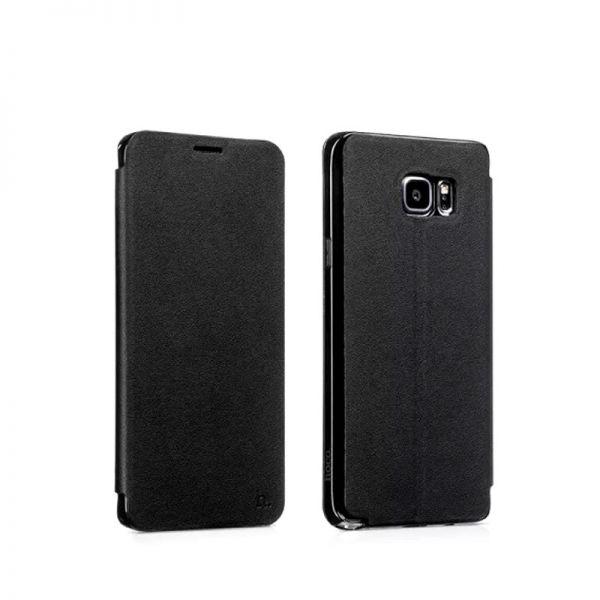 Hoco futrola Juice series Nappa leather case za Samsung N920 Note 5, crna