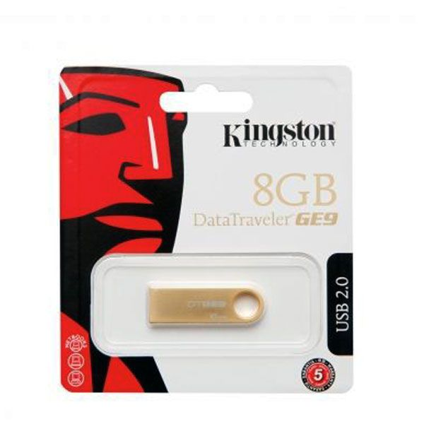 Usb Flash disk Kingston Data Traveler GE9 8GB metalni, zlatni