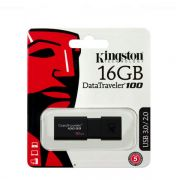Usb Flash disk Kingston Data traveler 100 G3 16GB, crni